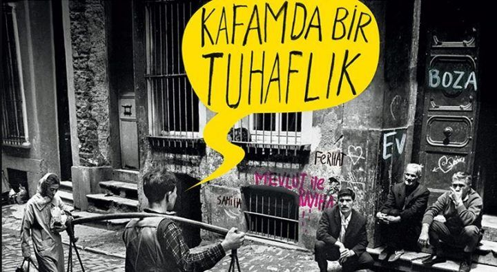A Strangeness in My Mind Turkish Book Cover