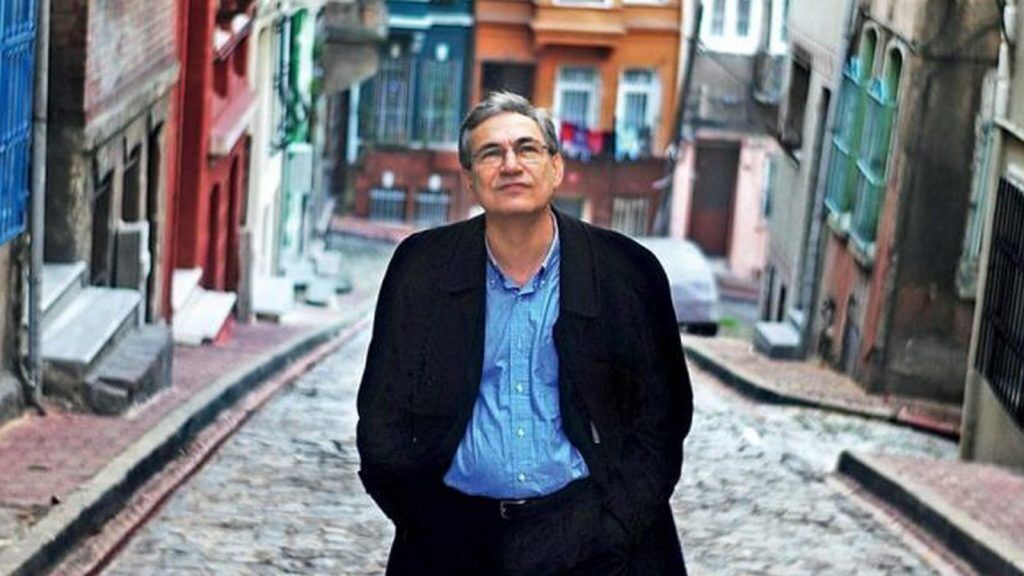 Orhan Pamuk wanders the streets of Istanbul, which he loves so much.