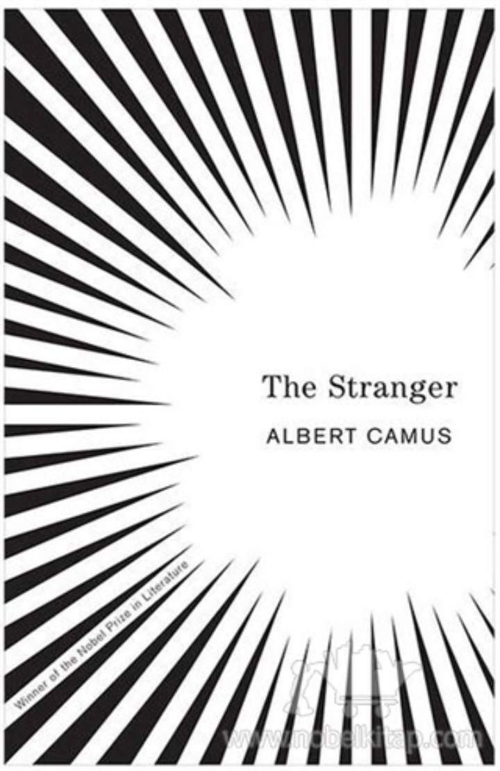 One of the covers of The Stanger that has changed over the years.