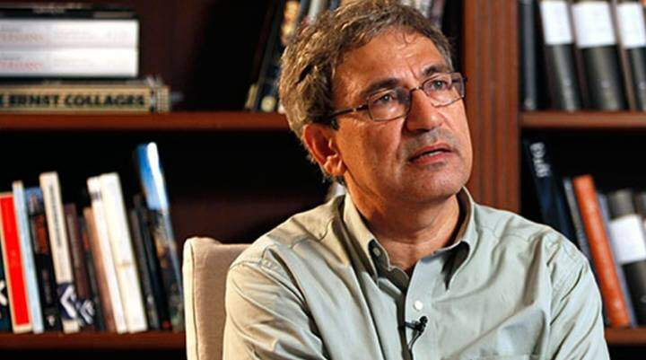 Orhan Pamuk is in a political place for the Turkish people, whether he likes it or not.
