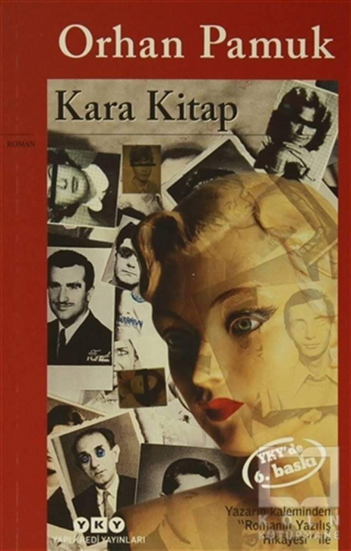 The cover of the Black Book from Yapı Kredi Publications